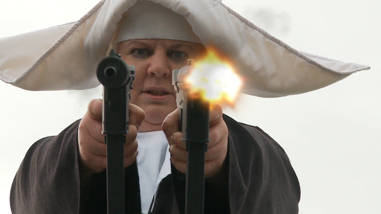 Nuns With Guns – Grindhouse Trailer (2008)
